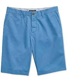 "Tommy Hilfiger Adaptive Men's Tommy Stretch 9"" Shorts with Velcro® Closure"