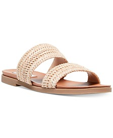 Steve Madden Women's Dede Woven Slide Sandals