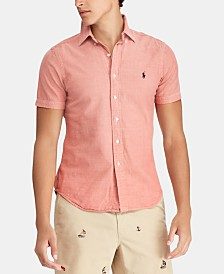 Polo Ralph Lauren Men's Big & Tall Classic-Fit Chambray Shirt