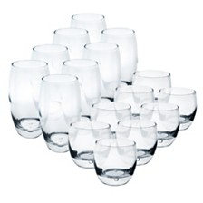 Luminarc Oxygen Tumblers - Set of 16