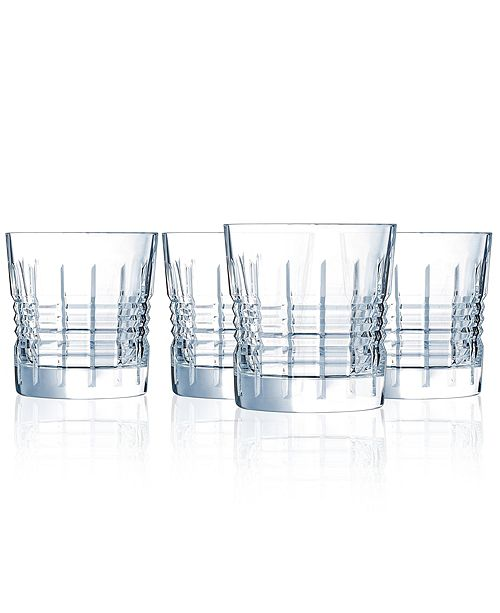 Cristal d'Arques Cristal D' Arques Rendez-vous OTR - Set of 4