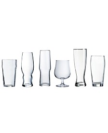 Luminarc Craft Brew Assorted Beer Glass 6PC Set
