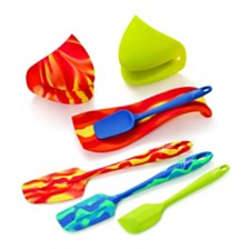 CLOSEOUT! Fiesta 7-PC Silicone Kitchen Set