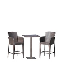 Leo Outdoor 3pc Bar Set, Quick Ship