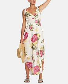 Billabong Juniors' Floral Print Maxi Dress