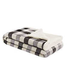 Nautica Gratton Plaid Ultra Soft Plush Throw