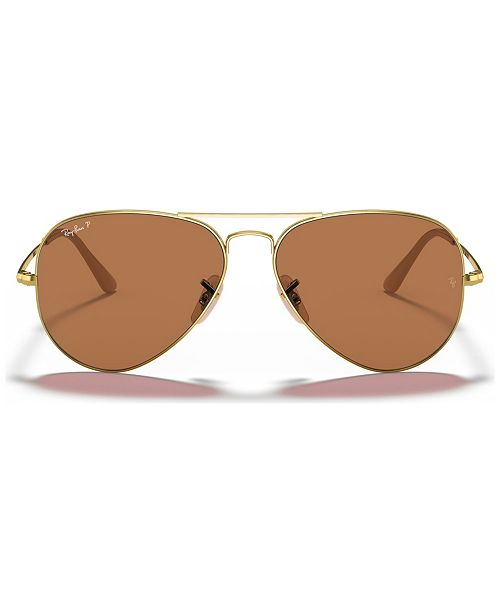 Ray-Ban Polarized Sunglasses, RB3689 58