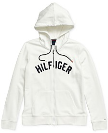 Tommy Hilfiger Adaptive Women's Jenna Zip Up Hoodie with Magnetic Closure