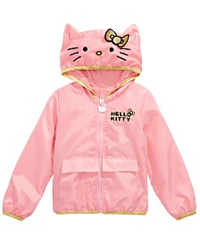 Hello Kitty Little Girls Hooded Jacket, Created for Macy's