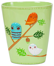 Creative Bath Accessories, Give a Hoot Trash Can