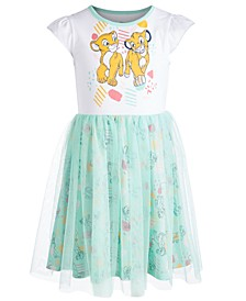 Little Girls Simba & Nala Graphic Dress, Created for Macy's