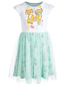 Disney Little Girls Simba & Nala Graphic Dress, Created for Macy's