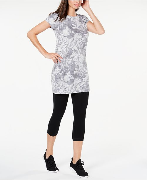Ideology Printed Keyhole-Back Tunic, Created for Macy's