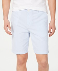 "Tommy Hilfiger Men's 9"" Isaac Stripe Seersucker Shorts"