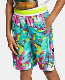 Nike Big Boys Dri-FIT Printed Basketball Shorts