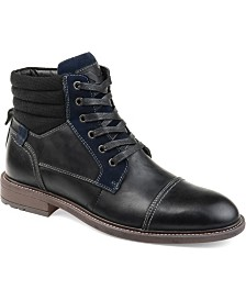 Vance Co. Men's Everett Cap Toe Ankle Boot