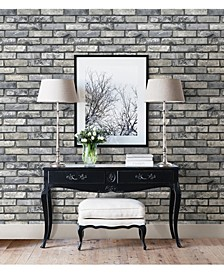 "Painted Brick Wallpaper - 396"" x 20.5"" x 0.025"""
