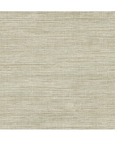 """Brewster Home Fashions Woven Faux Grasscloth Wallpaper - 396"""" x 20.5"""" x 0.025"""""""