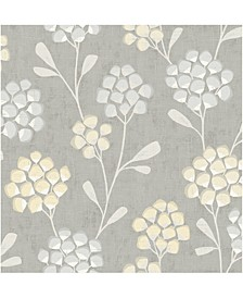 "Scandi Flora Wallpaper - 396"" x 20.5"" x 0.025"""