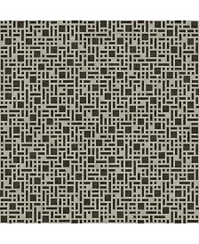 "Brewster Home Fashions Bento Geometric Wallpaper - 396"" x 20.5"" x 0.025"""