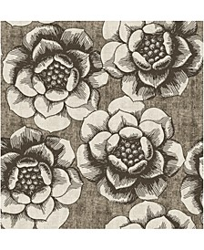 """Fanciful Floral Wallpaper - 396"""" x 20.5"""" x 0.025"""""""