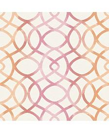 "Brewster Home Fashions Twister Trellis Wallpaper - 396"" x 20.5"" x 0.025"""