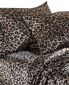 Luxury Satin Solid Queen Sheet Sets