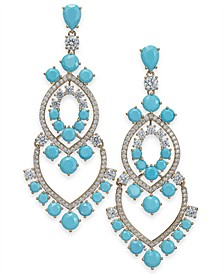 Crystal Chandelier Earrings, Created for Macy's