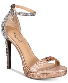 Thalia Sodi Women's Lissy Platform Evening Sandals, Created for Macy's