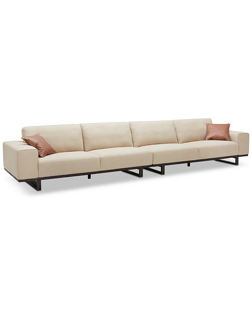 Furniture CLOSEOUT! Laser 2-Pc. Fabric Sofa