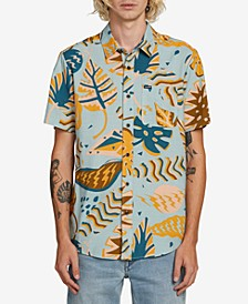 Men's Scrap Floral Woven Shirt