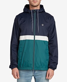 Volcom Men's Ermont Colorblocked Windbreaker