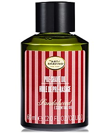 The Art of Shaving Men's Sandalwood Pre-Shave Oil, 2 oz.