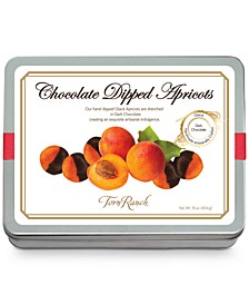 Chocolate-Dipped Glaceed Apricots