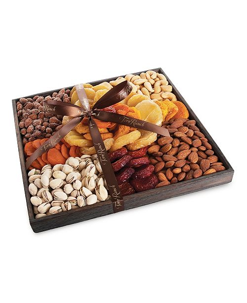 Torn Ranch Fruit & Nut Rose Gift Tray