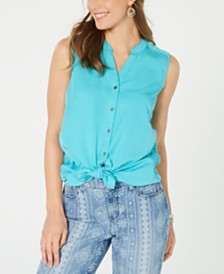 Style & Co Sleeveless Blouse, Created for Macy's
