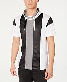 INC Men's Colorblocked Hooded T-Shirt, Created for Macy's