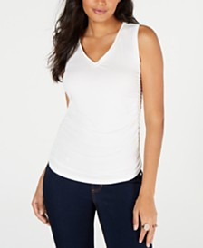Thalia Sodi Ruched Top, Created for Macy's