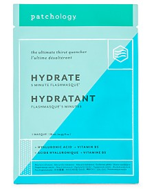 Patchology Hydrate FlashMasque 5-Minute Facial Sheet