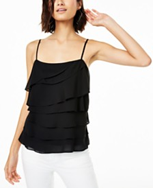 Bar III Layered Cami Top, Created for Macy's