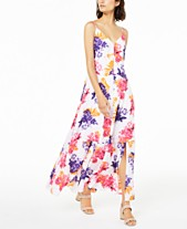 5183fffeb8b20 Bar III Floral-Print Maxi Dress, Created for Macy's