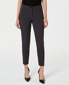 Anne Klein Seersucker Skinny Pants