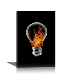 Eurographics The 4 Elements Framed Canvas Wall Art