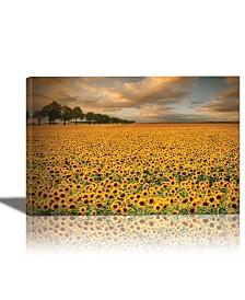 Eurographics Sunflowers Framed Canvas Wall Art