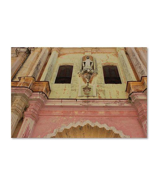 "Trademark Global Masters Fine Art 'Church in Havana' Canvas Art - 12"" x 19"""