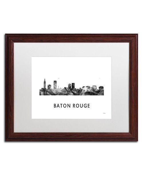 Trademark Global Marlene Watson 'Baton Rouge LA Skyline WB