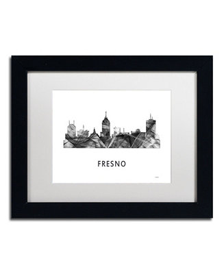 Trademark Global Marlene Watson Fresno California Skyline