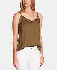 V-Neck Ruffled Camisole