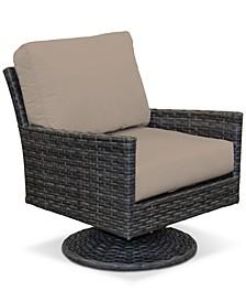 Amari Pepper Outdoor Swivel with Sunbrella® Cushions