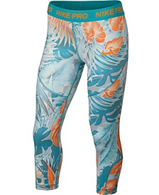 Big Girls Pro Printed Capris